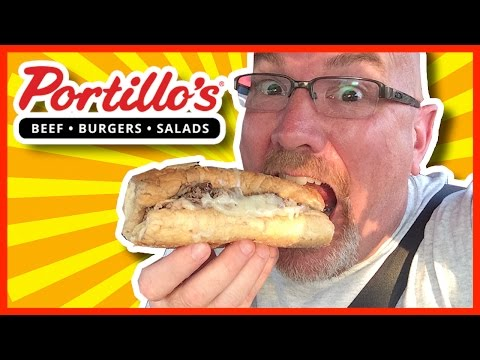 Portillo's ♥ Hot Dog and Italian Beef Sandwich Review plus Drive Thru Experience