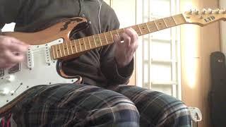 ドッケン パペット・オン・ア・ストリング ギターカヴァー from album s...