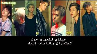 GOT7 - I Keep Looking (눈이가요) {ARABIC SUB}