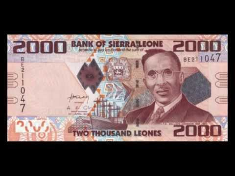All Sierra Leonean Leone Banknotes - 1995 to 2010 in HD