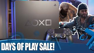 Days Of Play 2019 - Limited Edition PS4 Plus Epic Sales Revealed!
