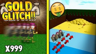 *NEW* WING GOLD GLITCH!! (INSANE) | Build a boat for Treasure ROBLOX