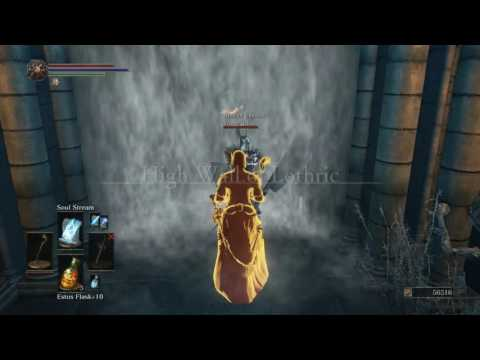 Dark Souls 3 Sorcerer boss fight Dancer of the Boreal Valley