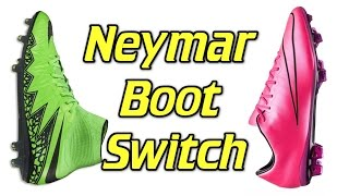 Neymar Boot Switch - Hypervenom to Mercurial