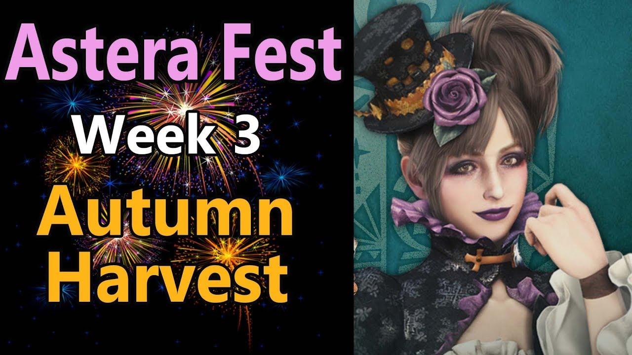 MHW: Astera Fest: Autumn Harvest | Ticket rewards | Palico Ghost | Harvest  Layered Armor 2019