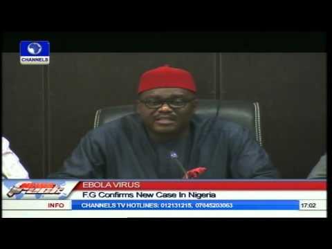 Ebola Virus: FG Confirms New Case In Nigeria