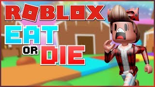 ESCAPE FROM THE GIANT KAYTRAINE! | ROBLOX: Eat or Die
