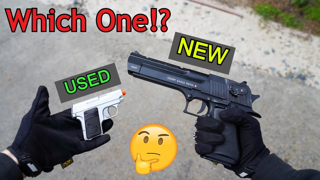 Airsoft Buyers Guide: Should you Buy Used or New Airsoft Guns!?