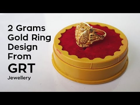 2 Grams Gold Ring Design Hands on Price