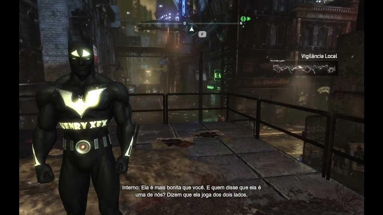 batman arkham city how to change skins