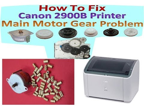 How to Replace main motor on canon LBP 2900 printer