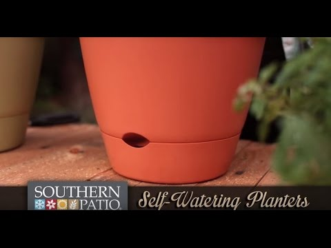 Self Watering Planters Youtube