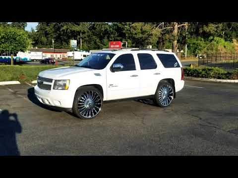 TAHOE LTZ 28S WIT GOD I AINT WORRIED BOUT NUTTIN!!!!