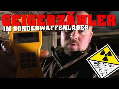 Mit Strahlenmessgerät im ☢ ATOMBOMBENLAGER ☢ | urbex - abandoned place - lost place