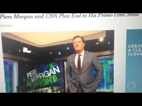 Piers Morgan show cancelled - breaking news !