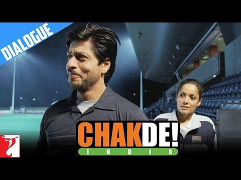 Dialogue: India Ka Tiranga Lehrate Hue Dekha | Chak De India | Shah Rukh Khan