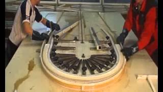 Производство пластиковых окон, часть 3(Производство пластиковых окон, часть 3 изготовление арочных окон, ламинация профиля для окон пвх., 2013-07-13T12:15:43.000Z)