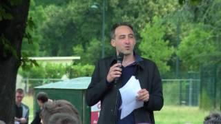 Discours de Raphaël Glucksmann au lancement du Mouvement du 1er juillet