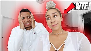 I DID MY MAKEUP HORRIBLY TO SEE HOW MY BOYFRIEND WOULD REACT!! *BAD IDEA*
