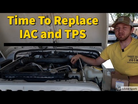 How To Replace IAC and TPS Jeep Wrangler