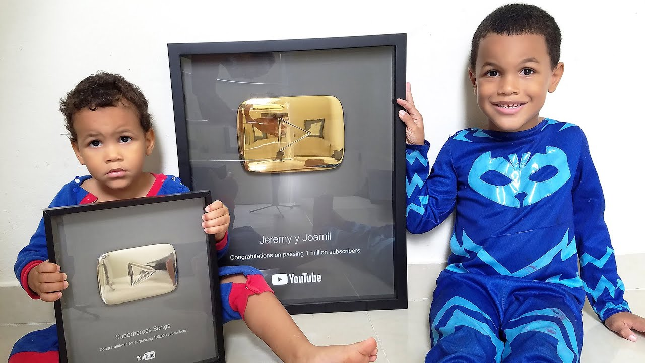 1 Million Subscribers gold button video