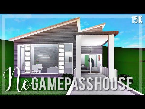 Bloxburg: 15k No Gamepass House