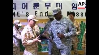 South Koreans end deployment, as US-led coalition dwindles