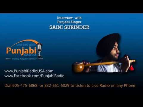 Saini Surinder Exclusive Interview with PUNJABI RADIO USA