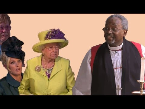 Royal family's reactions to Bishop Michael Curry's show stealing appearance