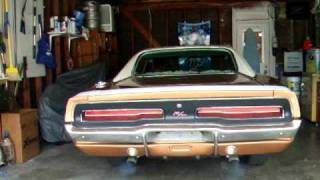 69 DODGE CHARGER r/t cold start up