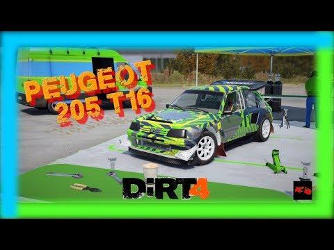 DiRT 4 Rallycross En Peugeot 205 T16