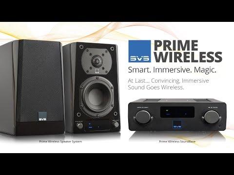 SVS Prime Wireless Speaker System and SoundBase
