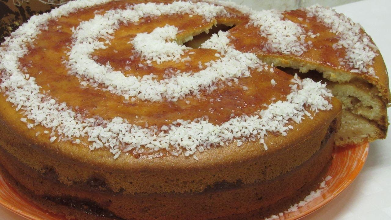 Узнай как испечь ПИРОГ с вареньем! Так еще не готовили - варенье ВНУТРИ! Простой рецепт пирога