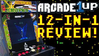 Arcade 1Up 12-in-1 Deluxe Atari Cabinet Review