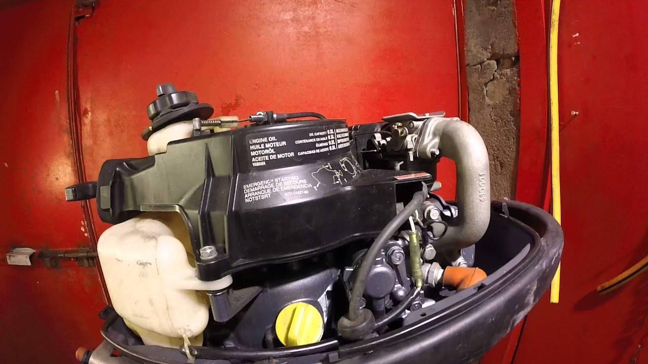уход и эксплуатация лодочного мотора yamaha 5л.с 2х тактный