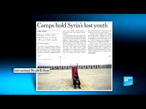 IN THE WORLD PAPERS - 'Camps hold Syria's lost youth'