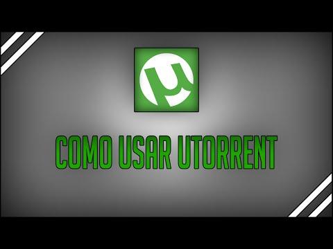 Como usar o uTorrent