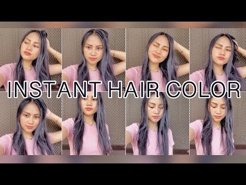 PENSHOPPE WASHABLE COLORED HAIR WAX REVIEW | Xy Castillo