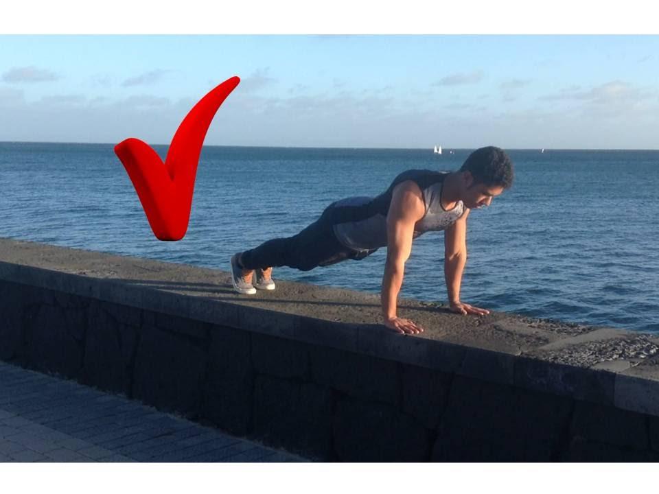 Como hacer una flexion bien hecha