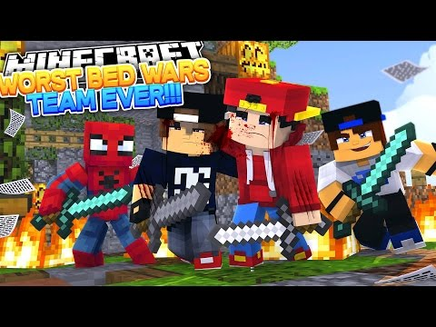 Minecraft Adventure - JACK IS THE BEST AT BED WARS???? - Видео из Майнкрафт (Minecraft)