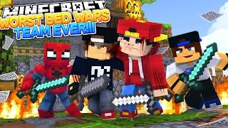Minecraft Adventure - JACK IS THE BEST AT BED WARS????