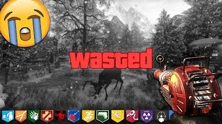 """I FAILED TO SAVE CHRISTMAS AND KILLED A REINDEER... (Black Ops 3 """"CUSTOM ZOMBIES"""" Map Mods)"""
