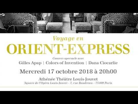 VOYAGE EN ORIENT-EXPRESS . PARIS . 17-OCT-2018-20h