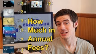 How Much Do I Pay in Credit Card Annual Fees?