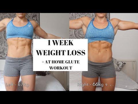 At home GLUTE workout | + losing 1kg in a week / vegan feelings