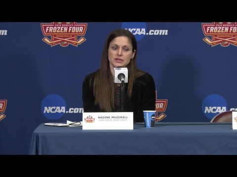 Women's Hockey Frozen Four | Semi-Final Game 1 Post Game Presser