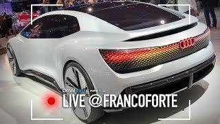 Audi Aicon, non ha il volante perchè non servirà più | Salone di Francoforte 2017