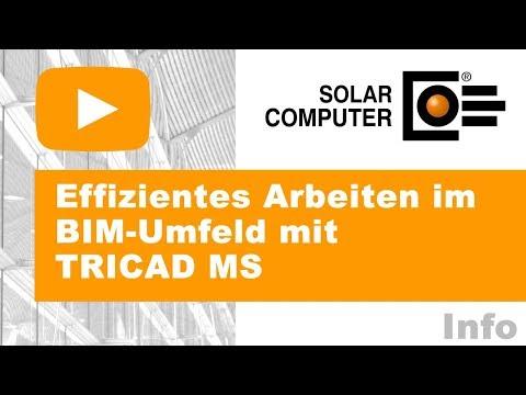 Effizientes Arbeiten im BIM-Umfeld mit TRICAD MS