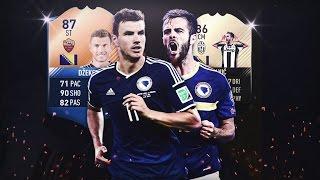 FIFA 17   SQUAD BUILDER   LA MEJOR BOSNIA !! PJANIC Y DZEKO AL MANDO !!
