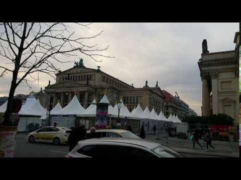 Berlin   Opera House & French Cathedral
